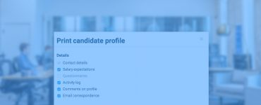 Now Print Candidate Cards
