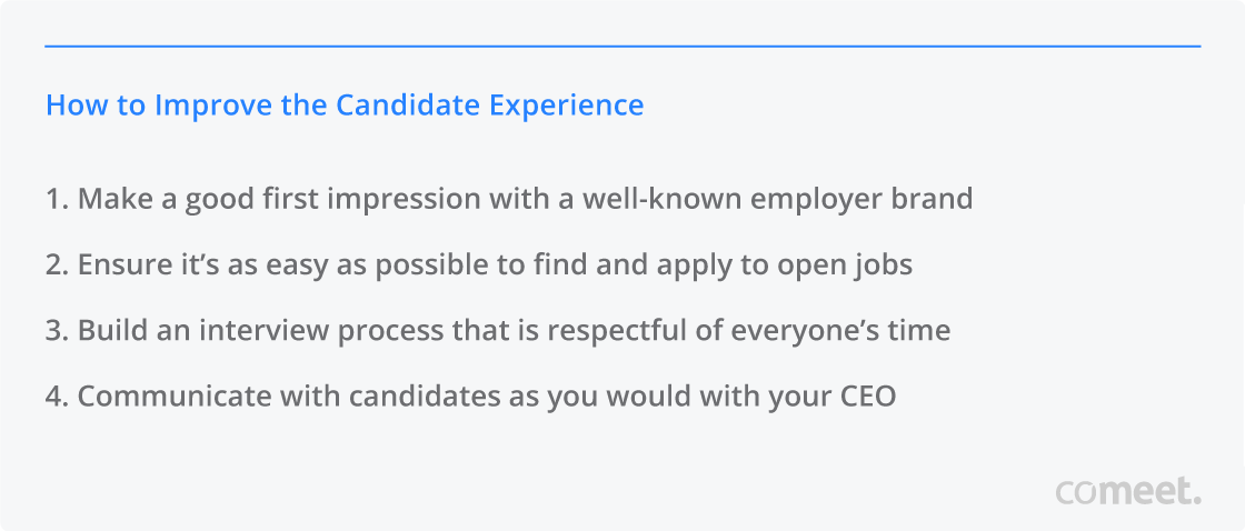 How to Improve the Candidate Experience
